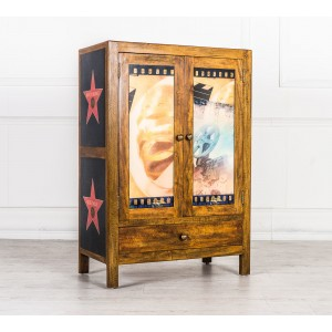 Armadio mobile credenza Hollywood legno massello