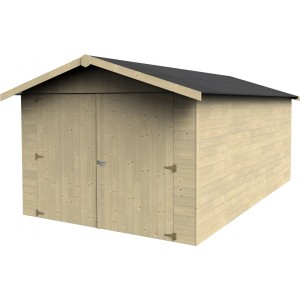 box garage in legno di abete