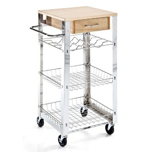 carrello cucina portafrutta portavivande